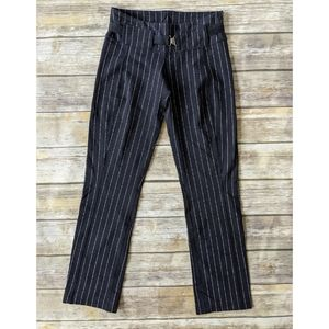 Lululemon Pinstripe Belted Leggings